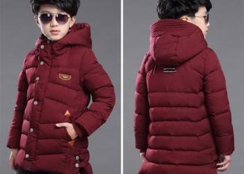 Детские зимние куртки . абсолютно новые