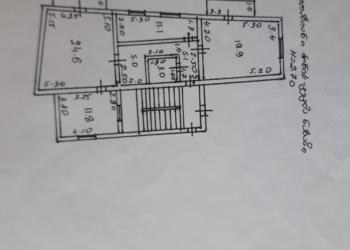 Квртира 3х комнатная в Кобулети
