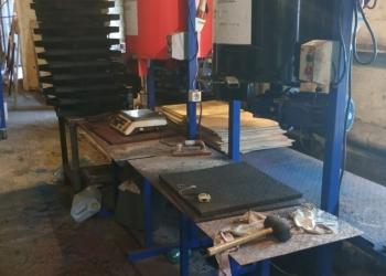 Оборудование для травмобезопасной резиновой плитки