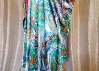 Платье-халат шелковый. Только королевские размеры