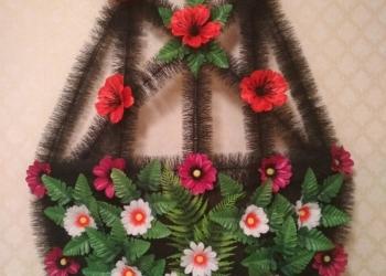 ритуальные венки и корзины