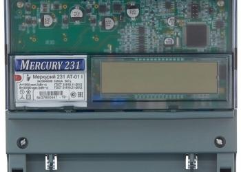 Счетчики Меркурий 231АМ /231АТ/230АRT (Умный)