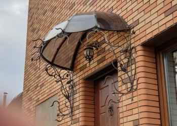 Кованный козырек (зонтик, 1.5м)