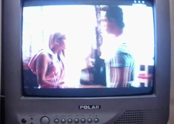 Продам ЭЛТ телевизор Polar диагональ 34 см.