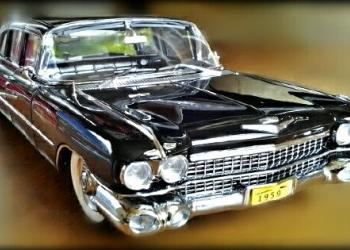 Кадиллак серия 75, 1959 года. (президент). Масштаб 1:18.