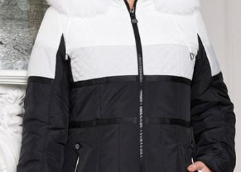 Утепленная куртка с мехом