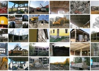 Качественные услуги по сносу и демонтажу зданий, снос построек, демонтажу плит