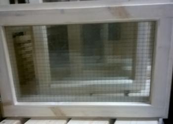 Окно в баню с двойным стеклом