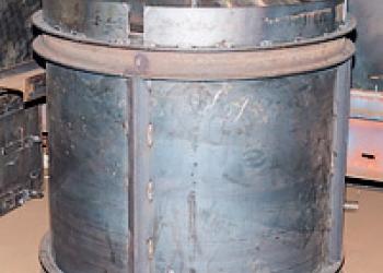 Виброформы для бетонных колец