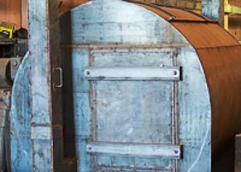 Углевыжигательная печь Чародейка 4,5 куб. м