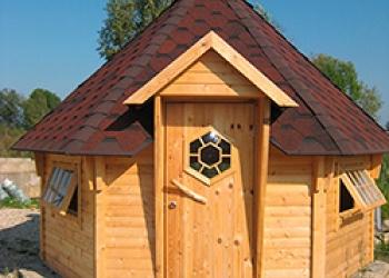 Гриль-домики Чародей для дачи