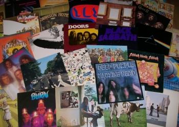 Виниловые пластинки Рок 70-х  Англия