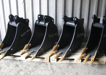 Ковш для траншеи шириной 30 - 60 см на экскаватор - погрузчик