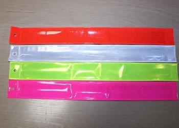 Светоотражающие браслеты цветные