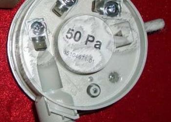 Прессостат 50 РА-BS для газового котла