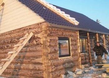 Срубы поднимаем и собираем на паклю,кроем крыши строим под ключ в г.Уфа. .