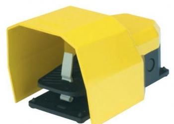 Педаль электрическая станочная PРKS11BX10 Emas/Емас с защитной крышкой
