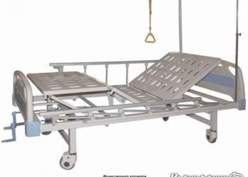 Кровать медицинская функциональная четырехсекционная винтовая