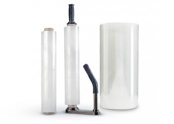 Стрейч-пленка для ручной обмотки 450мм*17мкм/1,6кг