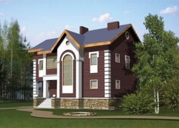 Дом из кирпича 10,5 х 12,5. Площадью: 236,2 м2