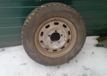 """Продам шины с дисками комплект зима на """"Соболь"""""""