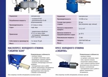 Маслопресс «Сибиряк» 200 кг/ч