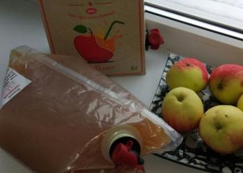 Натуральные соки из свежих яблок без консервантов