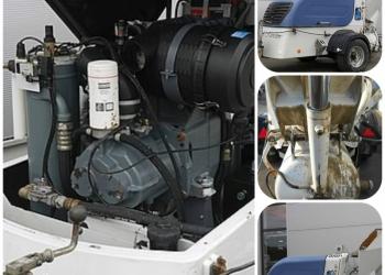Растворонасос EMS со скипом и скреппером 2012 года