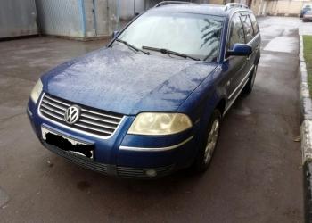 Volkswagen Passat, 2001 мкп