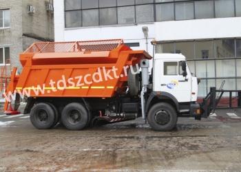 Дорожная машина ЭД-405А1-3  на базе самосвала КАМАЗ-65115