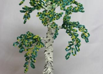 Продам дерево из бисера