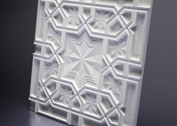 Декоративная панель 3D, Гипс, М-0036 Sultan.