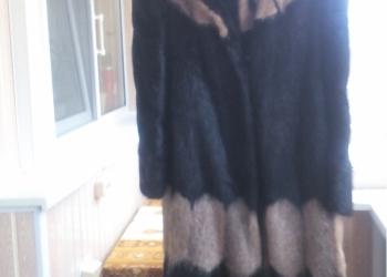 Женская шуба из нутрии