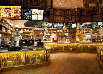 Монитор готовности заказов для кафе быстрого питания
