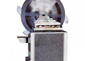 Печь Klafs eos 34gm 18,0 квт с колесом