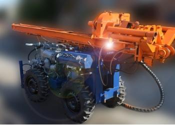 Буровая установка УДВ-600(4х4)