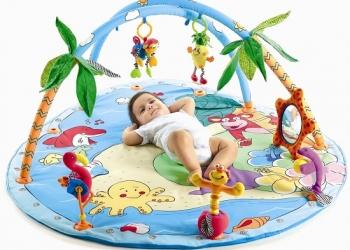 Игровой развивающий коврик для новорожденного