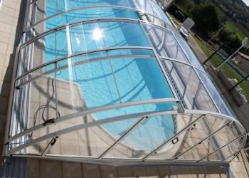 Павильоны для бассейна, раздвижные навесы для бассейнов