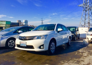 Toyota Corolla axio 2014 4wd