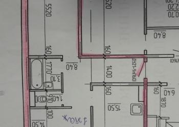 2-к квартира, 60 м², 1/10 эт.