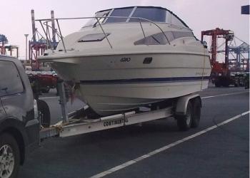 Транспортировка - доставка  лодок,  катеров,  яхт.