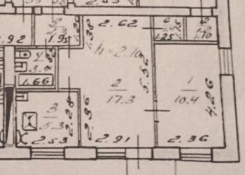 2-к квартира, 40 м2, 3/4 эт.