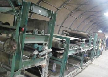 Продам линию для производства гофрокартона ЛГК-532