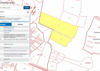 Продам земельный участкок с/х назначения в с.Бессоновка