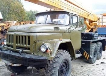 Аренда автовышки  ЗИЛ-131 ВС22МС