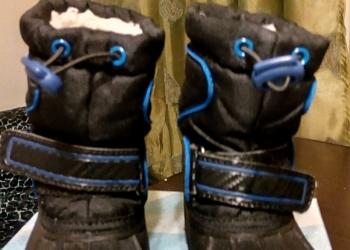Продам зимние сапоги для мальчика б/у 23 размер