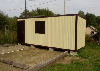 Модульные здания, Бытовки, блок-контейнеры