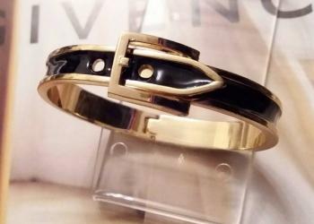 Браслет Gold Strap, черный R736