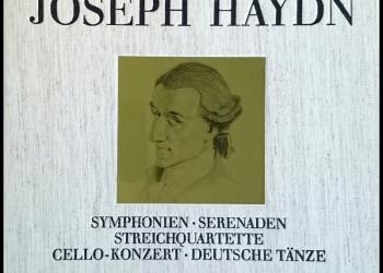 Йозеф Гайдн Joseph Haydn Symphonien Box 5 LP