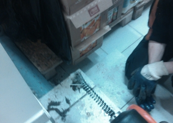 Аппаратная прочистка ,засаров канализации